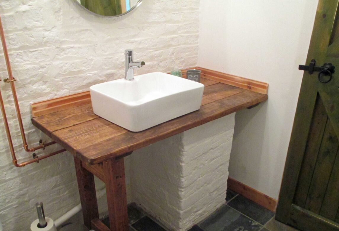 Rustic Bathroom Basin