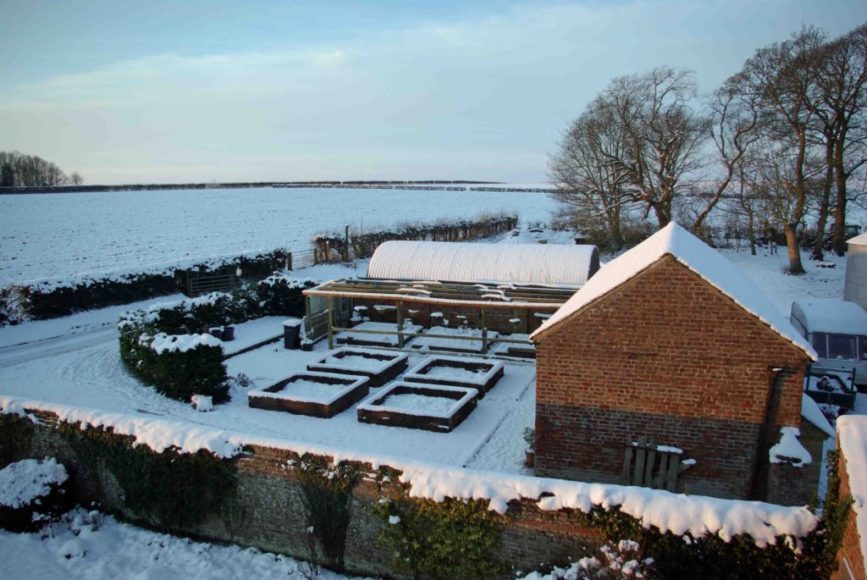 Dale Farm in the Snow