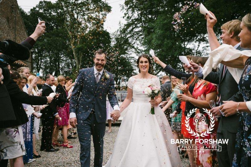 Katy & Tom Wedding Dale Farm, Yorkshire Wedding Photography by Barry Forshaw-0310