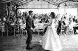 Bride and Groom dance together