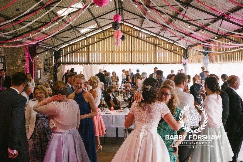 Katy & Tom Wedding Dale Farm, Yorkshire Wedding Photography by Barry Forshaw-0415