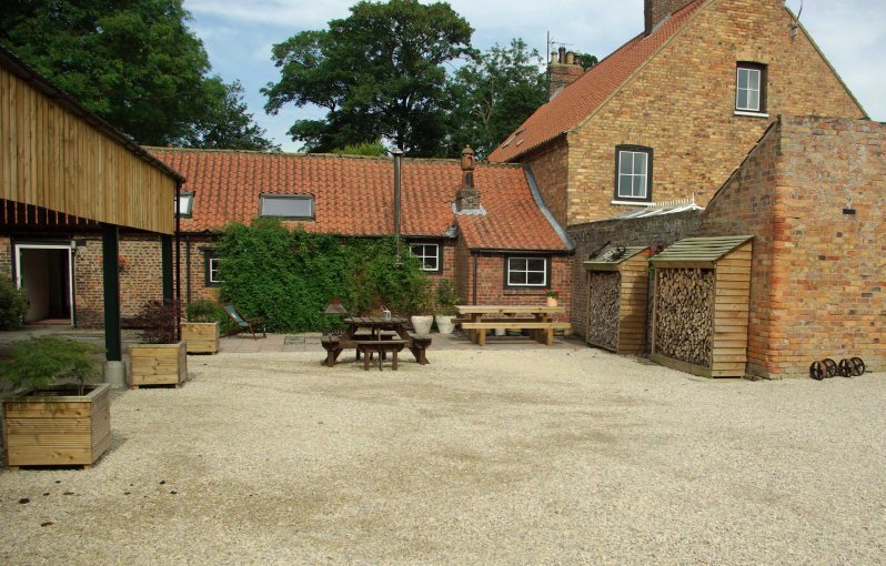 Dale Farm Courtyard