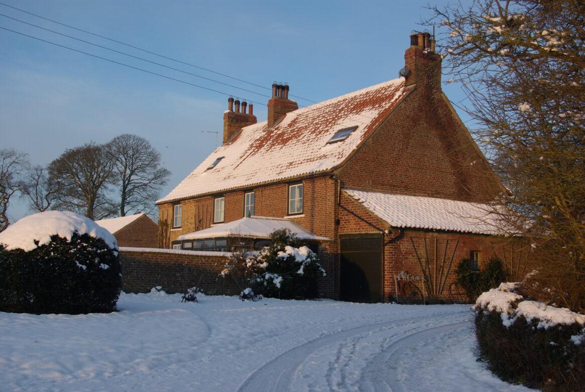 Dale Farm in the Snow