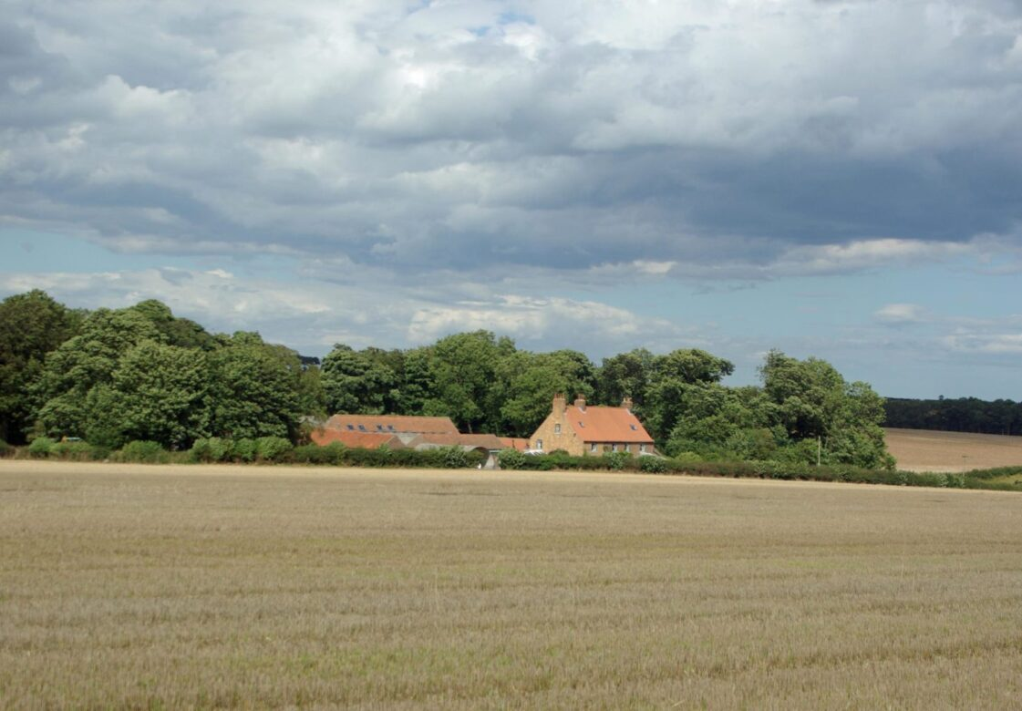 A landscape view of Dale Farm
