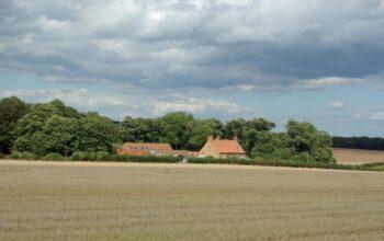 A landscape view of Dale Farm