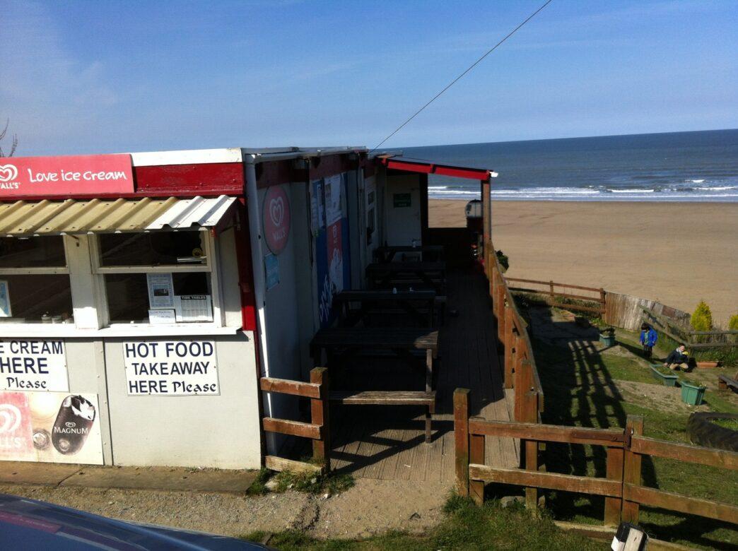 A beachside take away shop